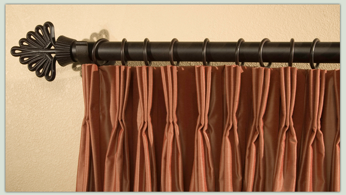 In contrast to other catalog programs, the Drapery Studio Collection offers a custom fit. The French Pleat style is a classic that works well in nearly any setting.